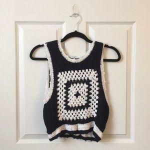 Crochet Crop Sweater